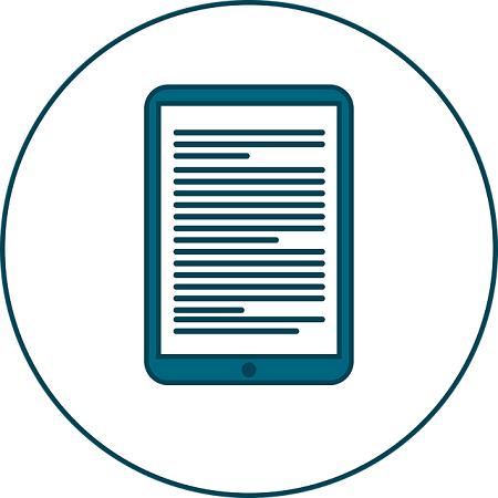 Contenidos médicos y de salud para libros electrónicos
