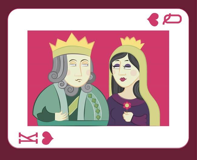 Rey Y Reina (con Minúscula)