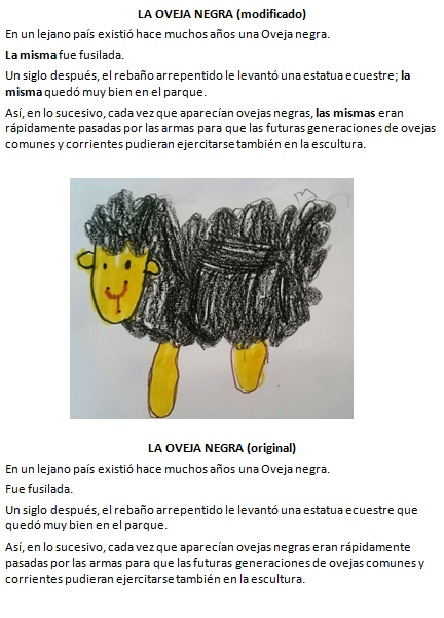 La oveja negra. Augusto Monterroso y Rocío