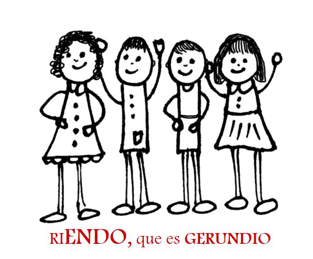 Niños Riendo (gerundio)