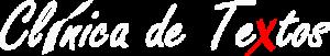 Logotipo Clínica de Textos
